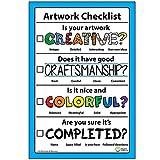 Artwork Checklist Visual Arts Rubric Poster 12' X 18'