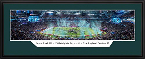 (15X35 Panoramic Frame - Super Bowl LII World Champions Philadelphia Eagles)