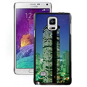 Beautiful Designed Case For Samsung Galaxy Note 4 N910A N910T N910P N910V N910R4 Phone Case With Tokyo At Night Phone Case Cover