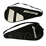 Babolat Tennis Racket Cover Case In Black With Logo and Strap