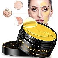 24karaats gouden hydrogel collageen oogmasker en hyaluronzuur 100% Vegan-Cruelty Free. 60 eye patches met anti-aging…