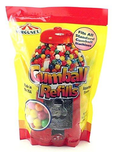 Assorted Gumballs Refill ~ 16 (Gum Machine)