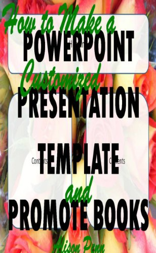 ized PowerPoint Presentation Template and Promote Books ()