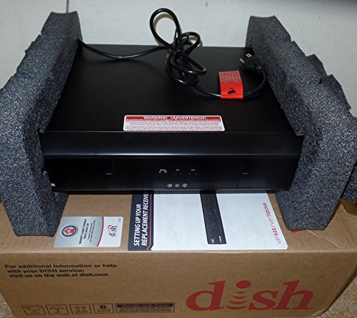 Factory Re-manufactured VIP 722K Dual Tuner HD DVR Dish Network