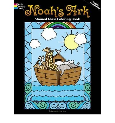 Noah's Ark Stained Glass Coloring Book (Dover Coloring Books) (Paperback) - Common pdf