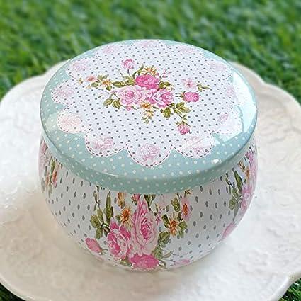 4ba3a6a1595 Amazon.com  Fashionable Tea Can Gift Box Wedding Beautiful Candy ...