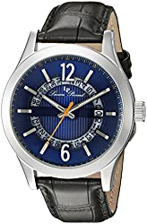 Lucien Piccard Men's LP-40020-03 Oxford Analog Display Quartz Black Watch