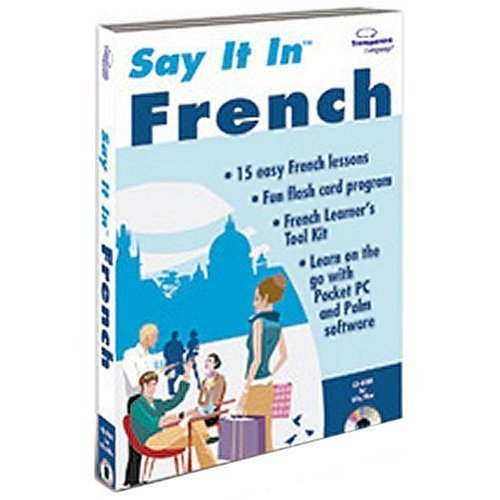 Say It In French (PC & Mac) (French Pocket Pc Language)