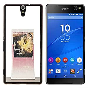 LECELL--Funda protectora / Cubierta / Piel For Sony Xperia C5 Ultra -- Art Canyon vintage impresiones --