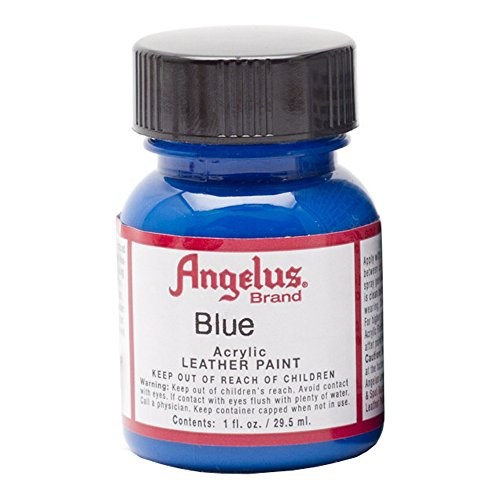 Angelus Leather Paint 1 Oz Blue