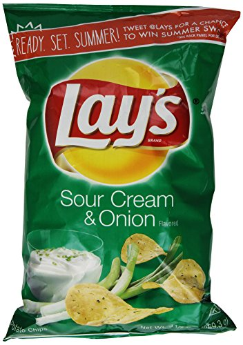 lay 39 s sour cream onion potato chips 9 5 oz 028400160155. Black Bedroom Furniture Sets. Home Design Ideas