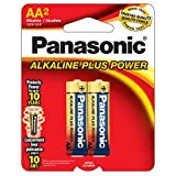 Panasonic AA Alkaline Plus Battery Retail Pack - 2 Pack фото