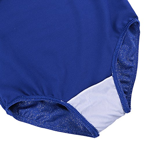 795412551 Girls Leotards for Gymnastics Blue American Flag Sparkle Spliced ...