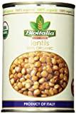 Bioitalia Lentils, 14 Ounce (Pack of 12)