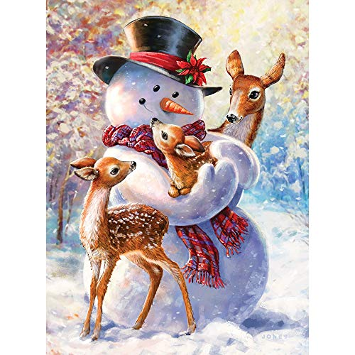 Top 10 recommendation snowman jigsaw puzzles for adults for 2020
