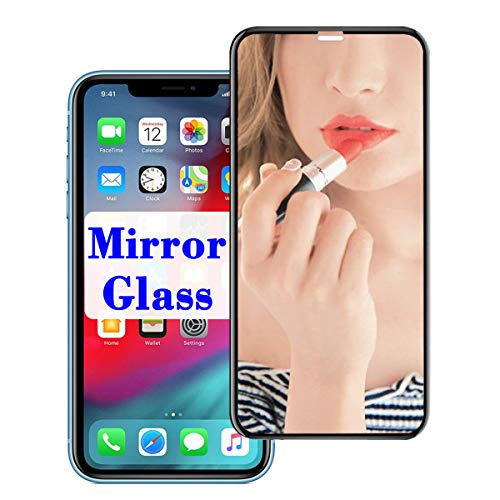 【Mirror Effect】 XS Max Screen Protector Compatible with Apple iPhone xsmax Tempered Glass Steel Film Cover for iPhonexsmax 10smax 10s x s Mirrored Screens i Phone Xmax xmaxs