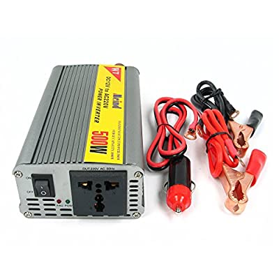 NAMEO 500W Modified Sine Wave Inverter 12V DC to 220V AC Car Power Inverter with Cigarette Lighter