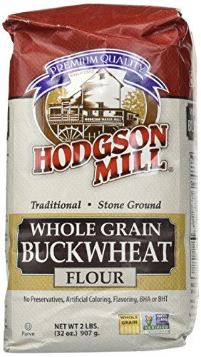 Hodgson Mill Buckwheat Flour 32 Ounce Sack (Pack of 6), Whole Grain Buckwheat Flour, Great for Pancakes, Crepes, Cookies, Muffins - Hodgson Mill Buckwheat Pancake