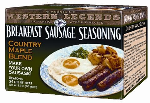 Hi Mountain Country Maple Breakfast Sausage - Sausage Kits Mountain Hi