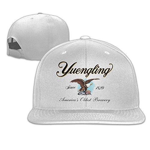 Yuengling And Sons Brewing Beer Adjustable Hat White