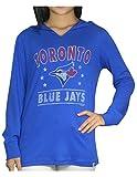 TOR BLUE JAYS Womens Athletic Light Weight Hoodie (Vintage Look)