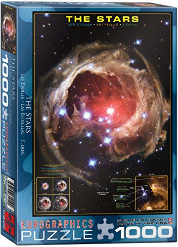 EuroGraphics The Stars 1000 Piece Puzzle