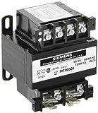 Siemens MT0050J Industrial Power Transformer, Domestic, 208/230/460,200/220/440,240/480 Primary Volts 50/60Hz, 24 X 115, 23 X 110, 25 X 120 Secondary Volts, 50VA Rating