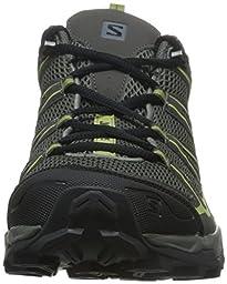 Salomon Men\'s X Ultra Prime Hiking Shoe, Castor Gray/Beluga/Fern, 11 D US