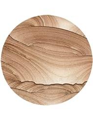 Thirstystone Cinnabar Coaster, Multicolor to Cinnabar Coaster, Multicolor - Natural Stone with Varying Patterns