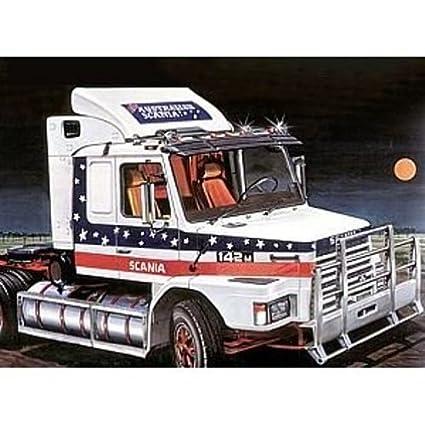Amazon.com: Italeri 780 – Maqueta 1/24 Scania T142 ...