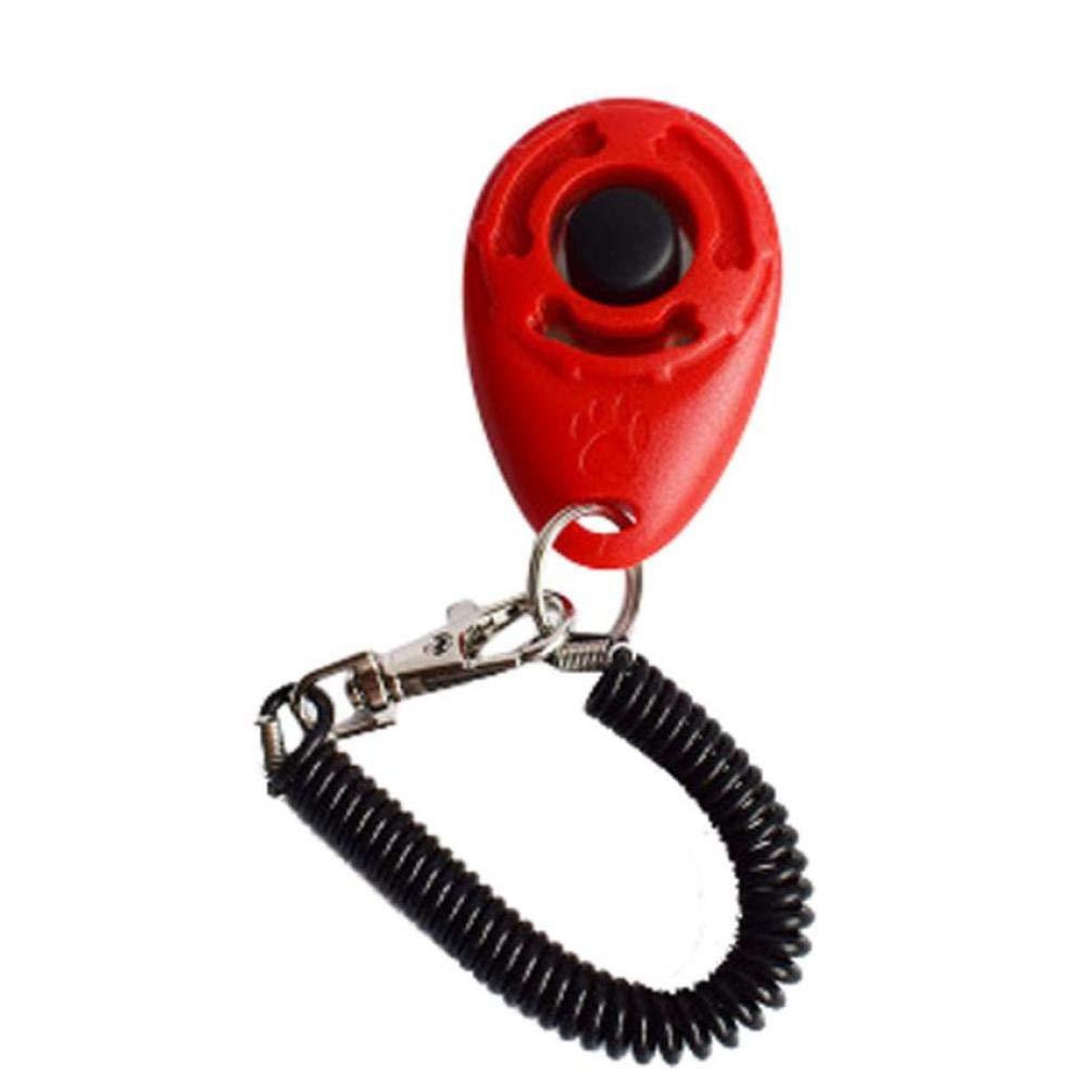 I Cani di addestramento Clicker Universale Pet Trainer Key Chain Animali Training Tools Disponibile Multicolore Accessori per la casa di addestramento sul Prodotto Cane