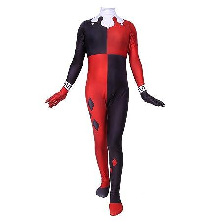 WEGCJU Traje De Harley Quinn Traje De Halloween Tema De ...