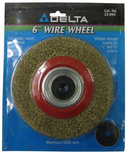 Awesome Delta 23 095 6 Inch Bench Grinder Wire Wheel Fine Gmtry Best Dining Table And Chair Ideas Images Gmtryco