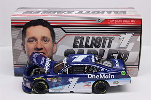 Lionel Racing Elliott Sadler #1 Onemain Financial 2018 Chevrolet Camaro 1:24 Scale Diecast Car ()