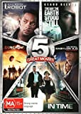 Sci-Fi 5-Pack [I, Robot + The Day the Earth Stook Still + Sunshine + Babylon A.D. - Raw and Uncut + In Time] [NON-USA Format / PAL / Region 4 Import - Australia]