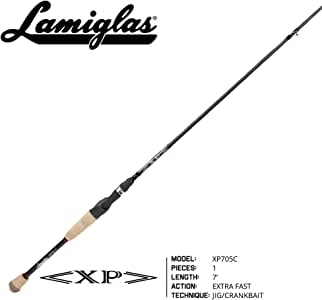 Lamiglas - XP Bass Fishing Rod