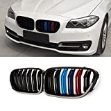 F10 Grille,ABS Front Replacement Kidney Grill for BMW 5 Series...