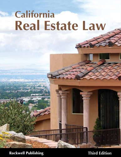 California Real Estate Law - 3rd edition