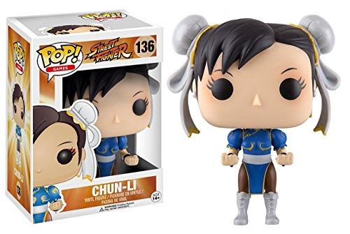 Funko Street Fighter Chun-Li Pop Games Figure Bundled with Protector