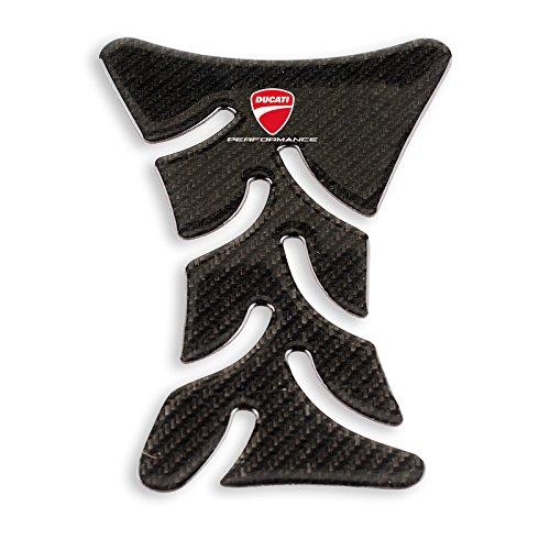 (Ducati Carbon T-shaped Tank Protector)
