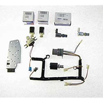 gm 4l60e 7 piece solenoid and wire harness kit epc tcc shift manifold 3-2