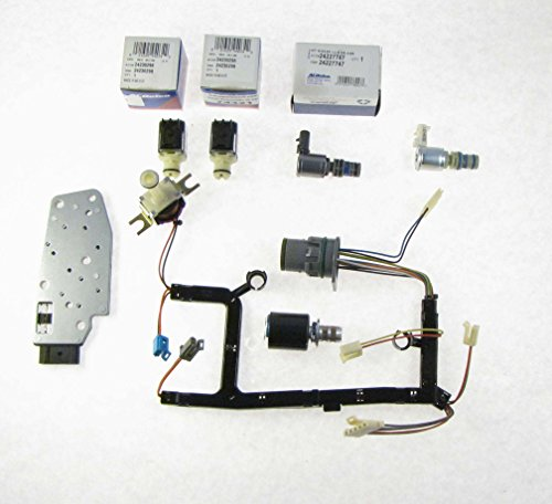 GM 4L60E 7 Piece Solenoid and Wire Harness Kit EPC TCC Shift Manifold 3-2