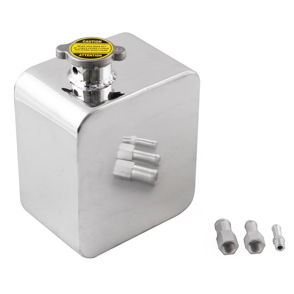 Anngo Universal 2L Aluminium Alloy Water Coolant Header Overflow Expansion Tank