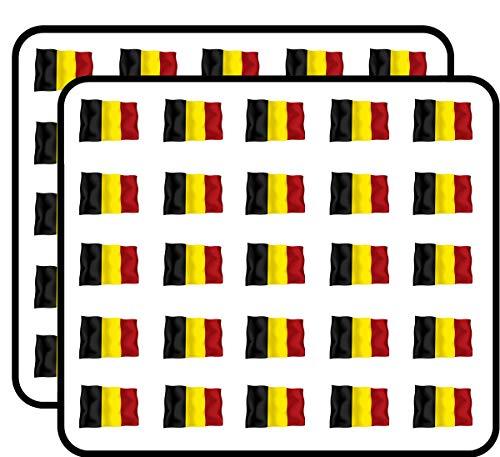 - Belgium Flag Sticker for Scrapbooking, Calendars, Arts, Kids DIY Crafts, Album, Bullet Journals 50 Pack