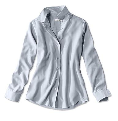 c6cdb68e Orvis Long-sleeved Everyday Silk Shirt at Amazon Women's Clothing store: