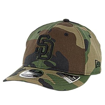 New Era 950 San Diego Padres Hidden Team Snapback Hat (Woodland Camo) Mens Cap