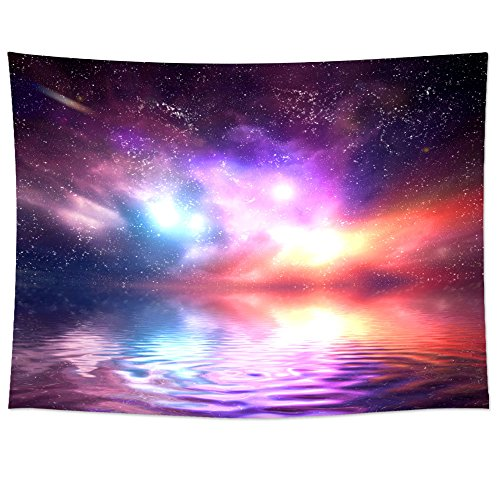 Uphome Colorful Universe Tapestry Hanging