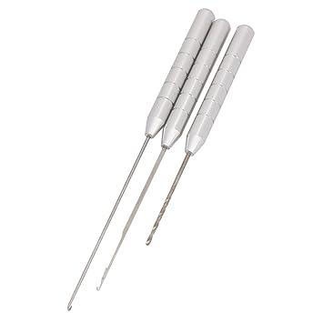 Angeln Werkzeuge 3in1 Combo Set Karpfenangeln Rigging Köder Nadel 0U