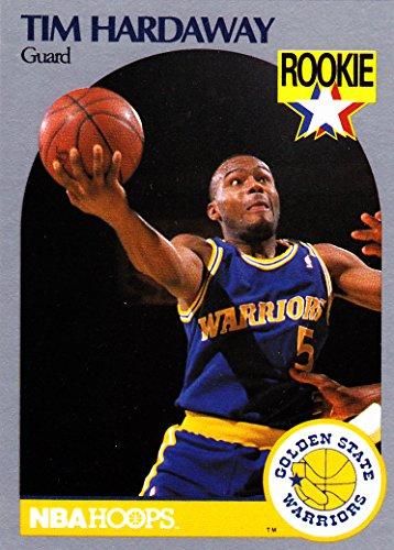 1989-90 NBA HOOPS TIM HARDAWAY RC ROOKIE CARD WARRIORS