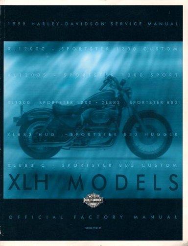 1999 Harley-Davidson Service Manual - XLH Models ()